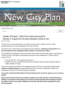 Kogarah New City Plan | A New Plan for our City