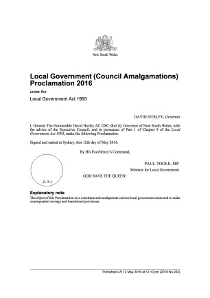 2016-242 Georges River Council May 12, 2016