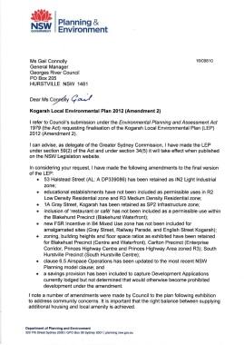 2Letter-to-Council-re-Kogarah-LEP-Amendment-2-Finalisation